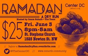 Ramadan Dry Run 3
